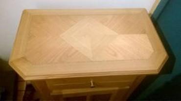 Commode en bois, marqueterie - Monthey et Chablais valaisan