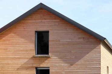 Façade en bois, bardage - Monthey