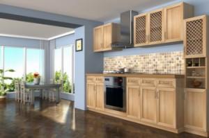 Mobilier de cuisine en bois