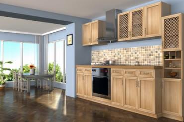 Lutry - Mobilier de cuisine en bois