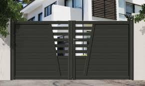 fabrication de portail sur mesure St-Saphorin