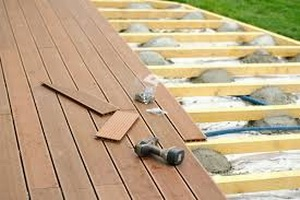 Construction de terrasses en bois