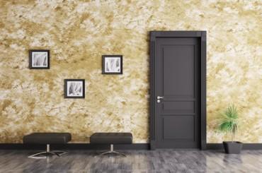 A Lutry, construction de portes intérieures en bois